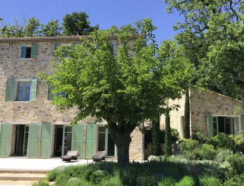 Du côté de Grasse – Villa BOTANICA : au nom des ingrédients naturels