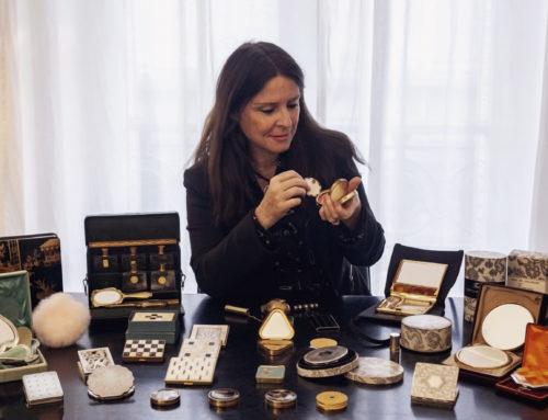Une collection inédite de poudriers et accessoires parfumés